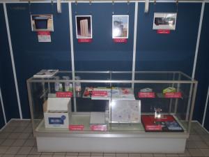 工業製品展示